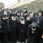 Наместника Лавры поздравили с годовщиной послушания братия обители и учащиеся КДАиС