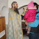 Гости Лавры с проблемами зрения получили не только материальную, но духовную поддержку