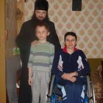 Братия Лавры навещала и принимала малообеспеченных детей