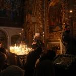Митрополит Павел совершил последнее в этом году акафистное пение Страстям Христовым