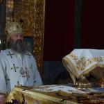 Наместник Лавры совершил заупокойное богослужение в церкви прпп. Антония и Феодосия