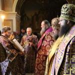 В день 21-летия наместнического служения митрополита Павла была совершена Литургия