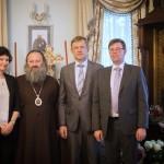 Министр культуры Литовской Республики встретился с Наместником Лавры