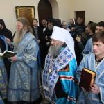 В праздник Благовещения открыт лаврский скит