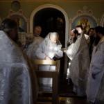 Освящена духовная связь столетий – в древнем приделе вновь совершена Литургия (видео)