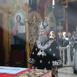 После совершения последней Литургии Преждеосвященных Даров в этом году была освящена главная лаврская звонница (видео)