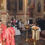 Митрополит Павел совершил Литургию в Зимненском монастыре