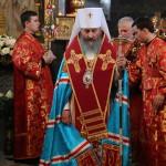 Паства и духовенство Киевской епархии молились с Предстоятелем в Лавре (обновлено)