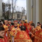Митрополит Павел служил Литургию в Варваринском храме столицы