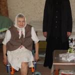 Братия Лавры навестила на дому подопечных Социального отдела