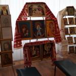 Братия Лавры побывала на выставке творческих работ людей с ограниченными физическими возможностями