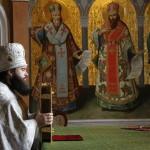 Заупокойное богослужение Родительской субботы в Великой церкви возглавил митрополит Павел