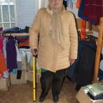 Социальный отдел помогает нуждающимся одеждой и обувью и принимает пожертвования