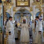 Взыграшася апостоли, зряще на высоту днесь Зиждителя вземлема, упованием Духа