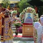 Наместник Лавры возглавил Литургию в день памяти прмц. Анастасии Римляныни в Житомирском ставропигиальном женском монастыре