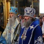 Митрополит Павел возглавил всенощное бдение в ставропигиальном Корецком монастыре