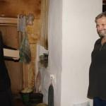 Братия социального отдела навестила одиноких пожилых инвалидов, проживающих в Киевской области