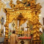 Митрополит Павел возглавил богослужение в Никольском соборе Санкт-Петербурга