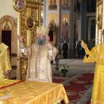 Наместник Лавры совершил Литургию в Преображенском соборе Валаамского монастыря