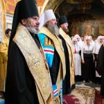 В День Независимости Украины в Лавре был совершен молебен (видео)