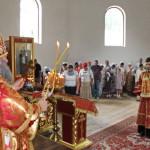Митрополит Павел служил Божественную Литургию в храме св. мч. Иоанна Воина