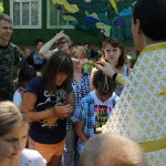 Насельник Лавры посетил по приглашению православный семейный лагерь