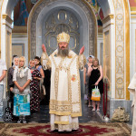 В день празднества в честь Нерукотворного Образа Спасителя Наместник Лавры совершил Литургию в Успенском соборе