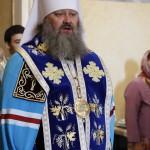 Наместник Лавры возглавил акафистное пение Успению Богородицы (видео)