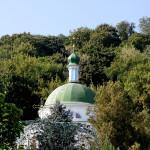 Наместник Лавры сослужил Предстоятелю вo Флоровском женском монастыре