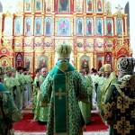 В день памяти прп. Серафима митр. Павел сослужил Предстоятелю УПЦ в Феофании