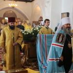 Митрополит Павел возглавил богослужение в день тезоименитства правящего архиерея в г. Нежин