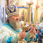 Наместник возглавил празднество чудотворной иконы в Введенской обители столицы