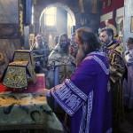 В день памяти Усекновения главы св. Иоанна Крестителя митрополит Павел совершил Литургию