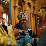 Наместник Лавры совершил Литургию в столичном храме в честь Владимирской иконы Пресвятой Богородицы (обновлено)