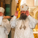 Наместник Лавры почтил чудотворный образ Христа Спасителя «Хлеб Жизни» в г. Сумы (обновлено)