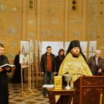 В Киево-Печерской Лавре прошла выставка икон для людей, лишенных зрения
