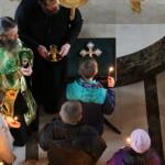 В Лавре принимали детей из района боевых действий