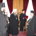 В Святом Граде встретились Предстоятель Иерусалимской Церкви и Наместник Лавры