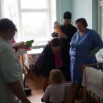 Социальный отдел Лавры помогает детям – пациентам инфекционного отделения детской больницы г. Бровары