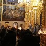 Митрополит Павел возглавил акафистное пение Успению Богоматери
