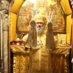 Митрополит Павел возглавил Божественную Литургию на месте Христова Рождества