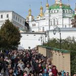 Ста на горе Печерской полк богознаменитый преподобных отец (видео)