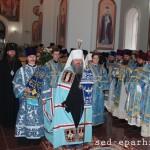 Митрополит Павел совершил великое освящение соборного храма женского монастыря г. Старобельска