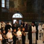 В Лавре состоялось традиционное посвящение в кадеты