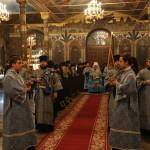 По случаю престольного праздника Лавры митрополит Павел возглавил Литургию в Аннозачатьевском храме обители