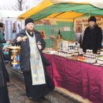 В Лавре был совершен молебен по случаю открытия православной выставки «Никольская»