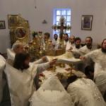 В годовщину преставления схимонахини Рафаилы (Чернецкой) Наместник Лавры возглавил заупокойное богослужение в Житомире