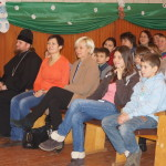 Священнослужители Лавры в праздник свт. Николая побывали с подарками в гостях у детей из государственных учреждений