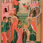 Святых святая во святых обитати достойно введеся, яко богоприятна жертва (видео)