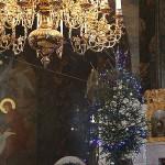 Наместник совершил богослужение навечерия Рождества Христова